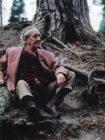 Image result for tolkien in nature